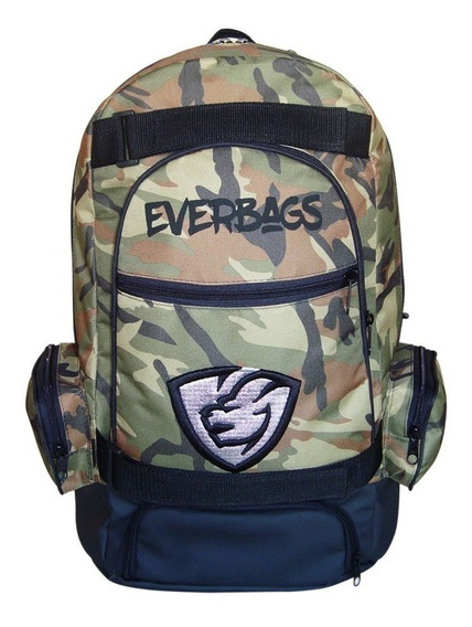 Mochila Térmica Fitness Marmita Camuflada Notebook Everbags
