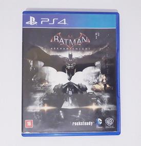 Batman Arkham Knight - Jogo Ps4 Mídia Física Em Português