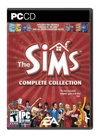 The Sims 1 Complete Collection - Enviado Pelos Correios