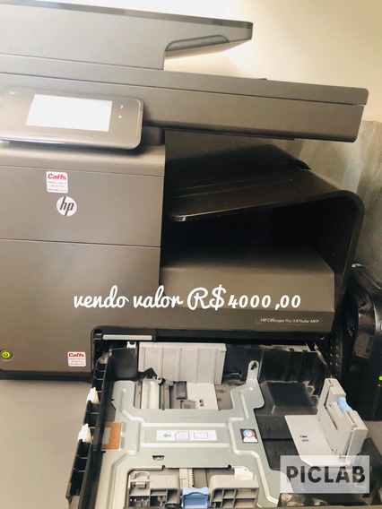 Impressora Hp Officejet X 4 76 Pro Dw Mfp