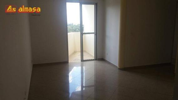 Apartamento Com 2 Dormitórios Para Alugar, 68 M² Por R$ 1.072/mês - Vila Galvão - Guarulhos/sp - Ap0402