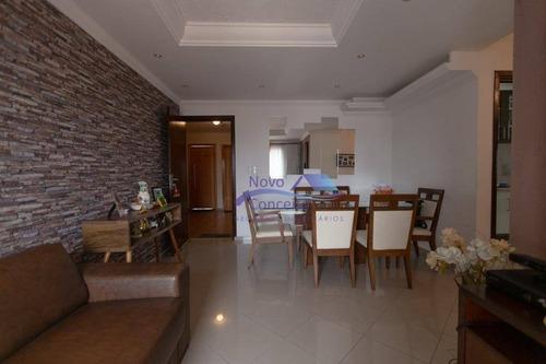 Apartamento Com 2 Dormitórios À Venda, 61 M² Por R$ 380.000,00 - Vila Mafra - São Paulo/sp - Ap0203