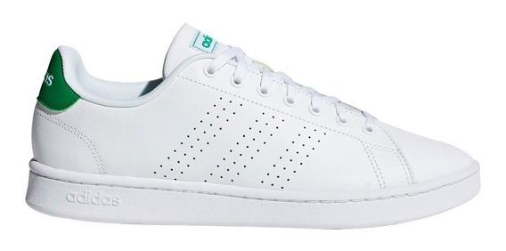 Tenis adidas Advantage Cl Blancoverde Unisex Original Ef0213