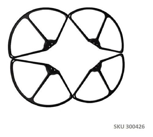Protectores Helices Drone Cx-20 Cx-22 O Dji Phantom - W03