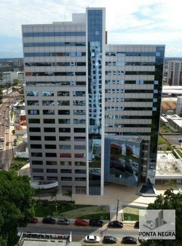 The Place Business Center, Junção De Salas C/ 8 Vagas De Garagem, 268m2. - Sa0046