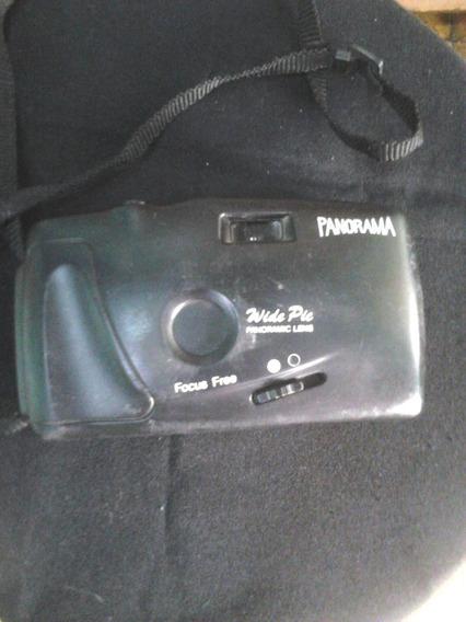 Máquina Fotográfica Panorama Focus Free Filme 126
