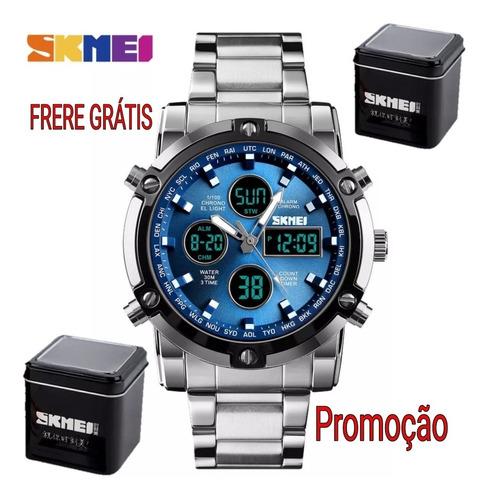 Relógio Masculino Skmei 1389 Relógio  Frete Grátis Promoção