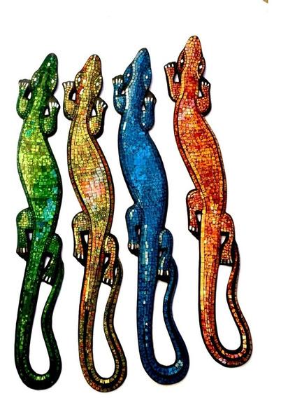 Iguana De Venecitas 100cm Deco Moderno 101.028080