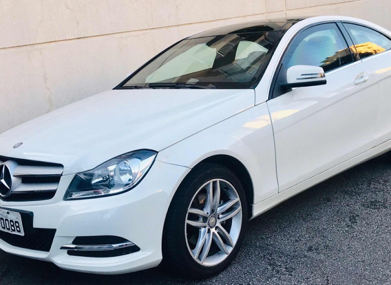 Mercedes C 180 Cgi Turbo 2p 2012 Blindada Coupe