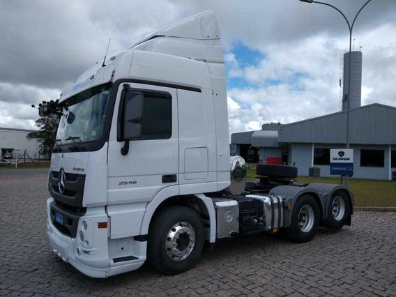 Mb Actros 2546, 2018, 6x2 Scania Seminovos Pr 7070