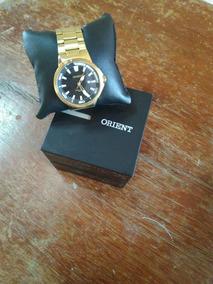 Relogio Orient Original Dourado A Prova D