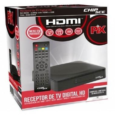 Receptor De Tv Digital Hd