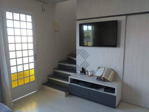 Sobrado Com 2 Dormitórios À Venda, 115 M² Por R$ 390.000,00 - Condomínio Vila Flora - Sorocaba/sp - So4046
