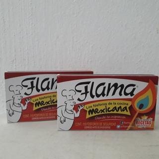 Cerillos Flama 250 Caja 115 Pieza