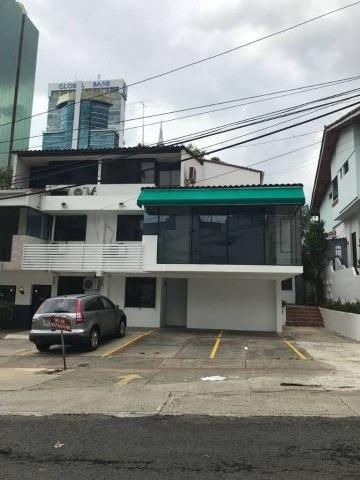 Casa Comercial En Alquiler En Obarrio (id 12325)