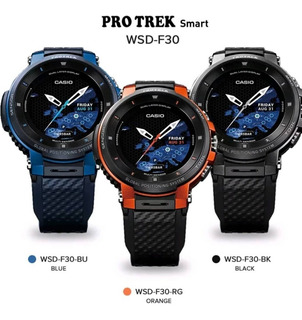 Smartwatch Casio Protrek Wsd F30 Gps Andriod Wear 2.0