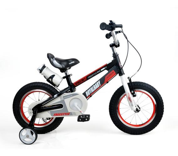 Bicicleta Infantil Royal Baby Space Aluminio R 14 Niña Niño