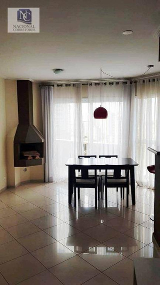 Apartamento À Venda, 94 M² Por R$ 542.000,00 - Jardim - Santo André/sp - Ap8788