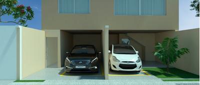Casa Geminada Com 2 Quartos Para Comprar No Xangri-lá Em Contagem/mg - 45762