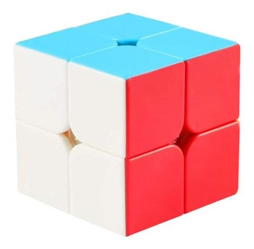 Cubo Rubik 2x2 De Velocidad Suave Juego De Ingenio Niños