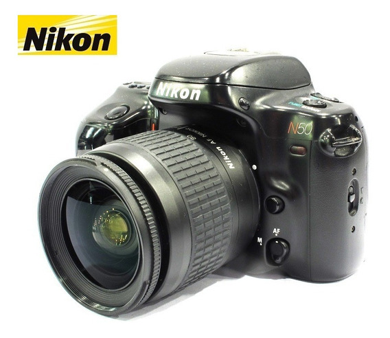Câmera Nikon N50 C/ Lente Nikon Zoom 28-80mm Af - Analógica