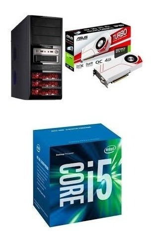 Pc Core I5-6400 - Gtx 970 4gb Asus , 16gb Ram - Hd 3tb