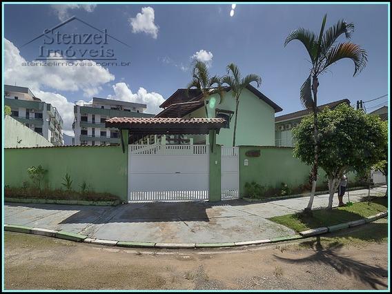 Casa Para Locação Anual Em Condomínio No Maitinga Em Bertioga - Cc00145 - 34971340