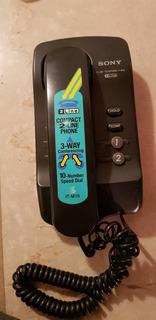 Telefone Sony 2 Linhas Com Conferência