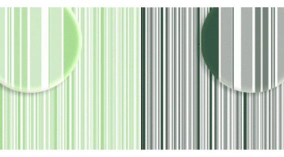 Repeteco - Duo Básico Listras Verde Claro/v.escuro - Hortelã