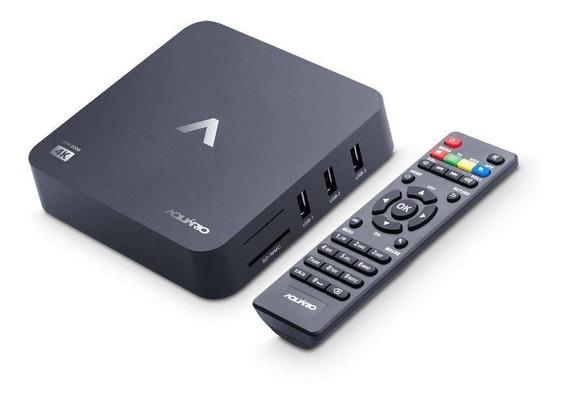 Smart Tv Box Aquário 4k Stv 2000 - Agora Sua Tv Será Smart