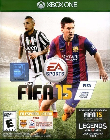 Fifa 15 Xbox One Americano (em Inglês) Original Mídia Física