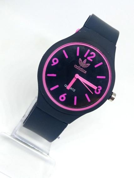 Relógio Feminino Preto Promoção + Caixa De Brinde