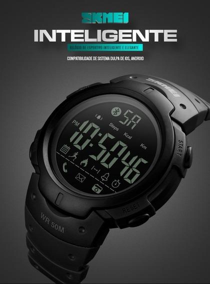 Relogio Masculino Skmei 1301 Bluetooth Inteligente Smartwatc