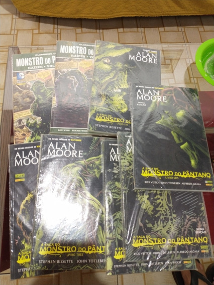 Monstro Do Pantano Alan Moore