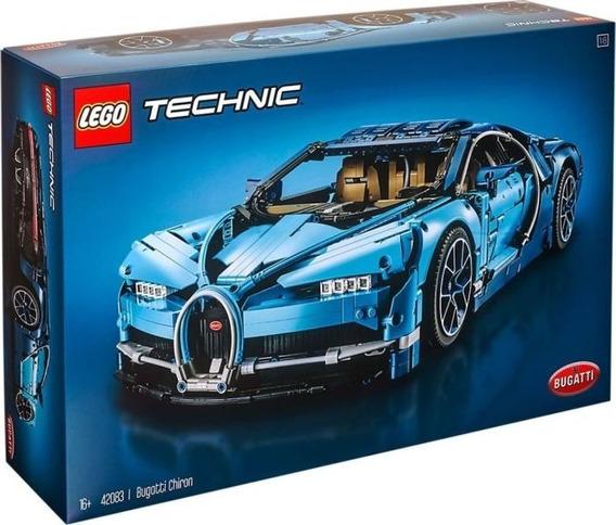Lego Technic Bugatti Chiron Pronta Entrega 42083 Brick Rj