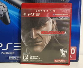 Jogo Metal Gear Solid 4 Playstation 3 Midia Fisica Ps3