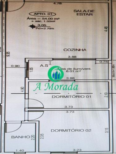Aptos Tipos E Coberturas Em Construção Na Vila Marina! - Ap02788 - 68688132