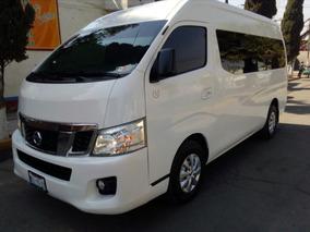 Nissan Urvan 2014 Nv350,maximo Lujo Y Capacidad