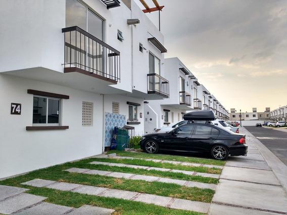 Renta Casa En Queretaro Fracc Sonterra A 17 Km Del Centro