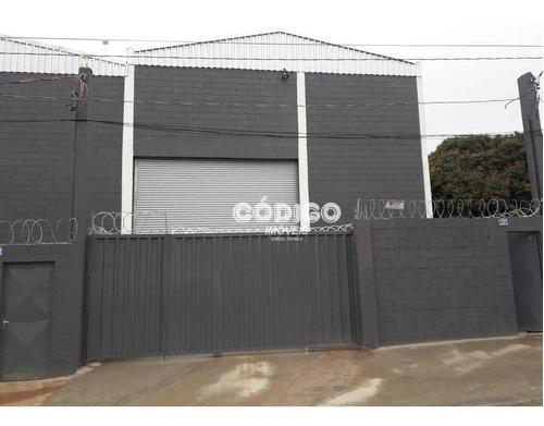 Imagem 1 de 9 de Galpão Novo Para Alugar, 740 M² Por R$ 14.000/mês - Vila Paraíso - Guarulhos/sp - Ga0164