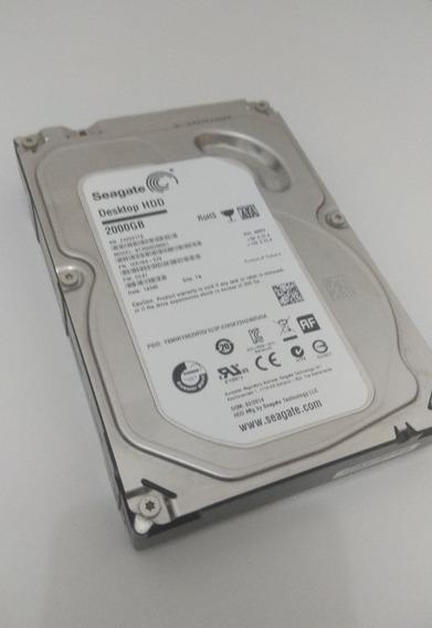 Hd Seagate 2tb 2 Terabytes 2000gb 7200rpm
