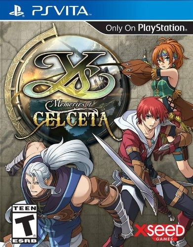 Ys Memories Of Celceta - Playstation Vita (físico)