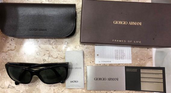 Óculos De Sol Armani - Perfeito Estado- Caixa, Nota.
