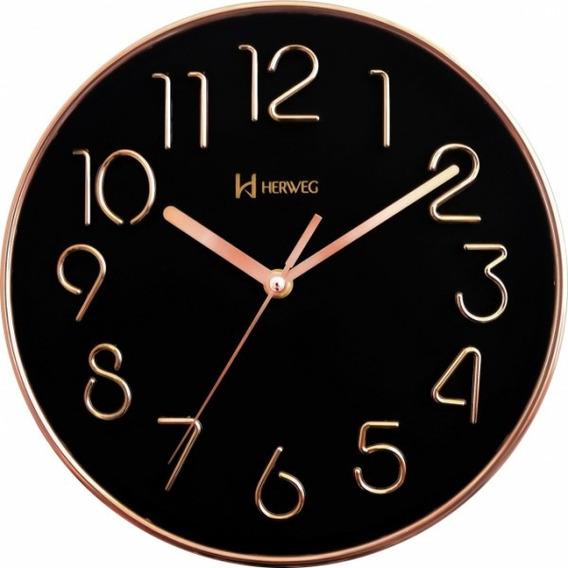 Relógio De Parede Herweg 6480 Rosê