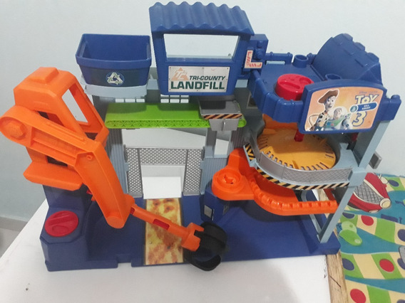 Imaginext Toy Story 3 Aterro Tri-county Mattel Original
