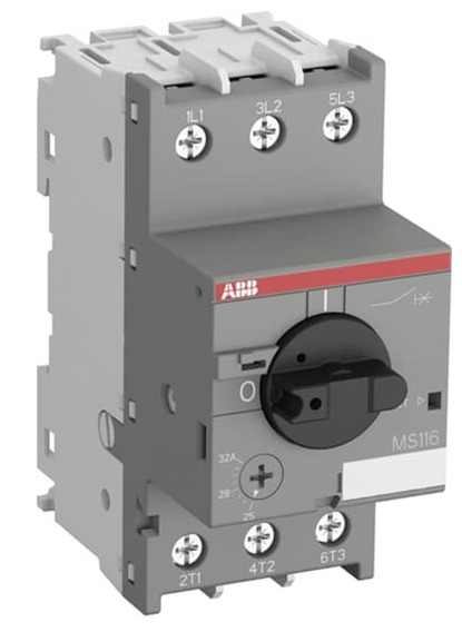 Abb 1sam250000r1015 Guardamotor, Ms116-32, 32amperes