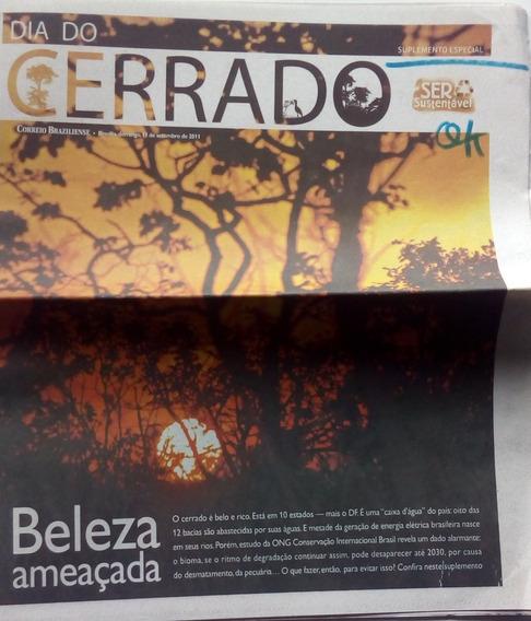 Suplemento (jornal) Dia Do Cerrado. Correio Braziliense 2011