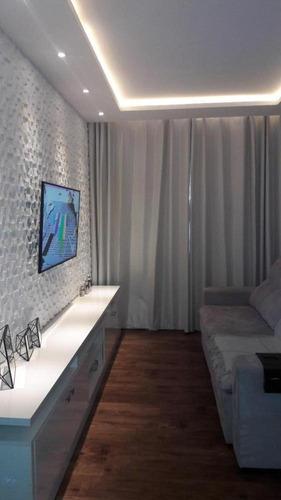Imagem 1 de 17 de Apartamento De 53m² Com 2 Quartos E 1 Vaga À Venda No Viva Mais Barueri - 1308_dan