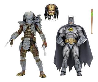 Batman Armored Vs. Predator Figuras 2-pack Sdcc 2019 N.e.c.a