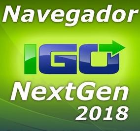 Atualização Gps Igo Nextgen - Android 2018.q2 Novembro
